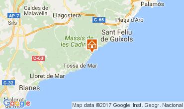 Mapa Lloret de Mar Apartamento 50869