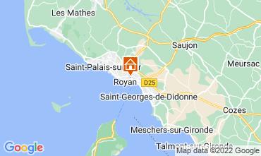 Mapa Royan Apartamento 55283