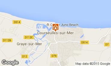 Mapa Courseulles-sur-Mer Apartamento 99204