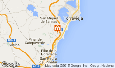 Mapa Torrevieja Villa 39657