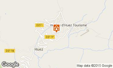 Mapa Alpe d'Huez Apartamento 90424