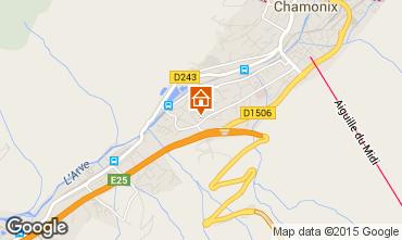 Mapa Chamonix Mont-Blanc Apartamento 32184