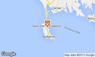 Mapa Saint Pierre Quiberon Villa 81399