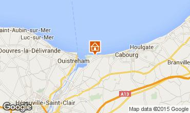 Mapa Cabourg Apartamento 98720