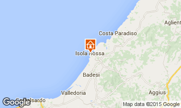 Mapa Isola Rossa Apartamento 61212