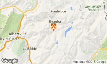 Mapa Areches Beaufort Estudio 29709