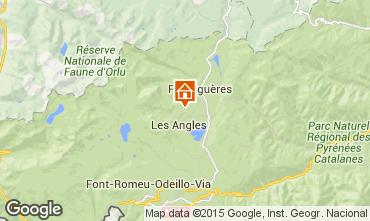 Mapa Les Angles Chalet 27257