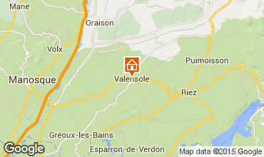 Mapa Valensole Villa 94865