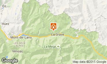 Mapa La Grave - La Meije Chalet 4764