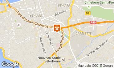 Mapa Marsella Apartamento 95551