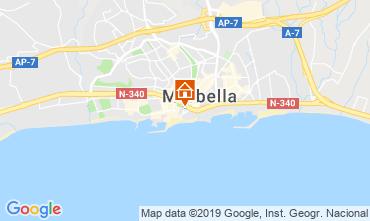 Mapa Marbella Apartamento 119630