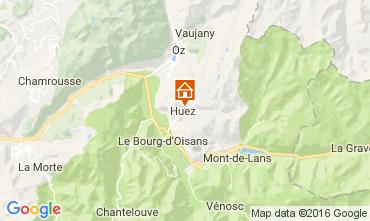 Mapa Alpe d'Huez Chalet 14816
