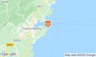 Mapa Porto Vecchio Casa 70501