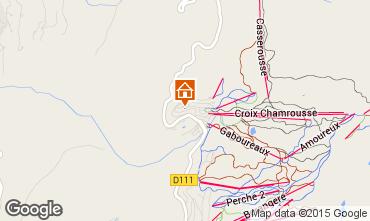 Mapa Chamrousse Apartamento 91073