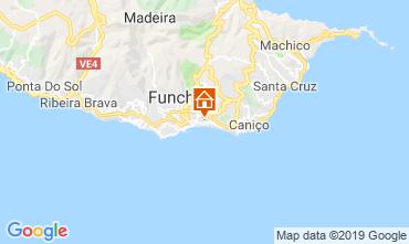 Mapa Funchal Apartamento 58610