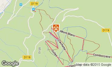 Mapa Les Arcs Apartamento 93583