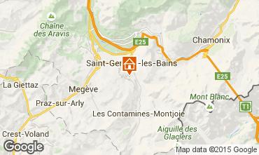 Mapa Megève Chalet 16662