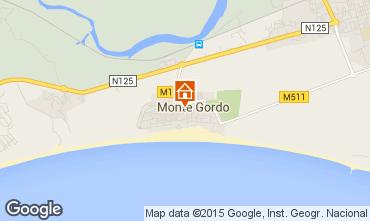 Mapa Monte Gordo Apartamento 94342