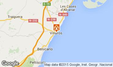 Mapa Vinaroz Apartamento 85109