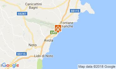 Mapa Avola Villa 16981