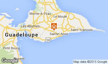 Mapa Sainte Anne (Guadalupe) Casa rural 60117