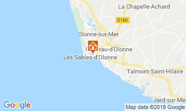 Mapa Les  Sables d'Olonne Casa 117483
