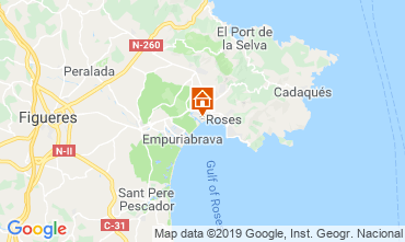 Mapa Ampuriabrava Casa 108722