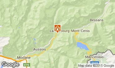 Mapa Termignon la Vanoise Apartamento 3322