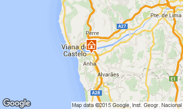 Mapa Viana Do castelo Casa 85590
