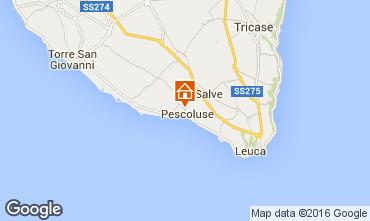 Mapa Pescoluse Alojamiento insólito 103154