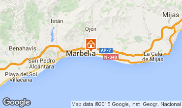Mapa Marbella Villa 64346