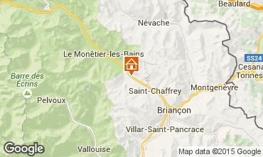 Mapa Serre Chevalier Estudio 74661