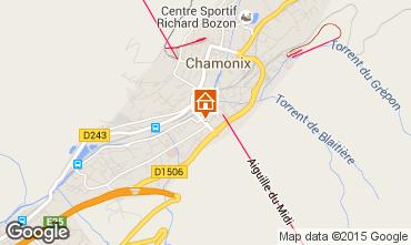 Mapa Chamonix Mont-Blanc Apartamento 92446