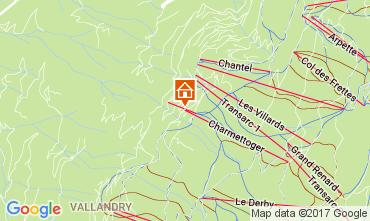 Mapa Les Arcs Apartamento 112008