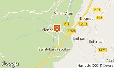 Mapa Saint Lary Soulan Apartamento 91671