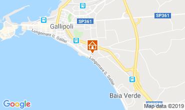 Mapa Gallipoli Apartamento 119719