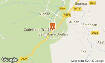 Mapa Saint Lary Soulan Chalet 102169