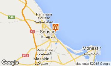 Mapa Sousse Apartamento 25792