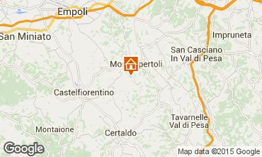 Mapa Montespertoli Apartamento 74504