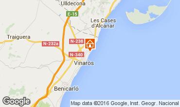 Mapa Vinaroz Apartamento 102785