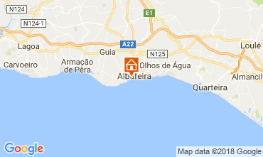 Mapa Albufeira Villa 114694