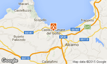 Mapa Castellammare del Golfo Apartamento 69495