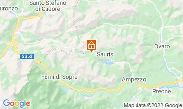 Mapa Aprilia Marittima Chalet 71068