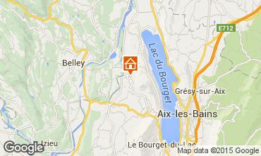 Mapa Aix Les Bains Casa 78836
