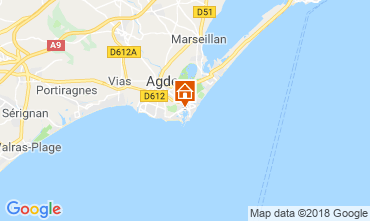 Mapa Cap d'Agde Estudio 117600