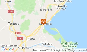Mapa La Ampolla Casa 118389