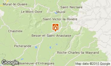 Mapa Besse - Super Besse Chalet 68149
