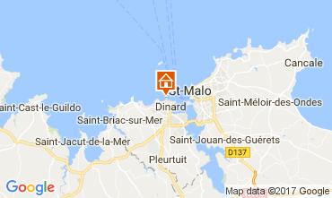 Mapa Dinard Alojamiento insólito 111904