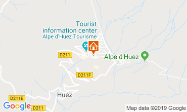 Mapa Alpe d'Huez Estudio 112804