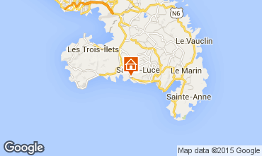 Mapa Sainte Luce Estudio 69054